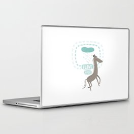I LOVE RAIN Laptop & iPad Skin