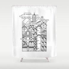 KYOTO Shower Curtain