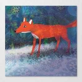 Fox friend Canvas Print