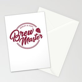Funny Brew Master product | IPA Craft Beer Home Brewing Stationery Cards