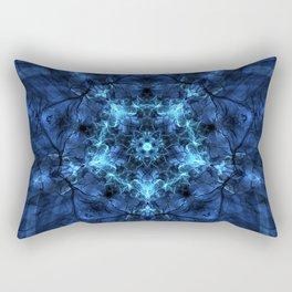 Star Rebirth Mandala Rectangular Pillow