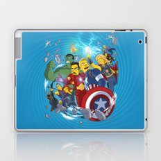 Superheroes Laptop & iPad Skin