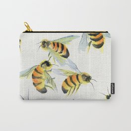 All About Bees Carry-All Pouch