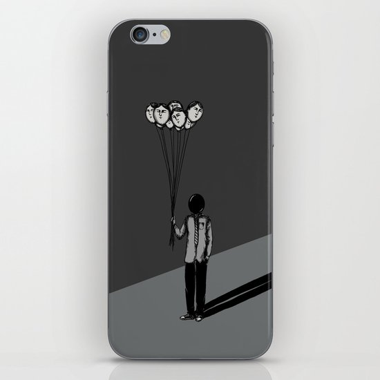 The Black Balloon iPhone & iPod Skin