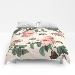 Rose Garden Butterfly Pink Comforters