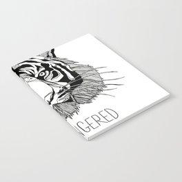 Endangered Species Tiger Notebook