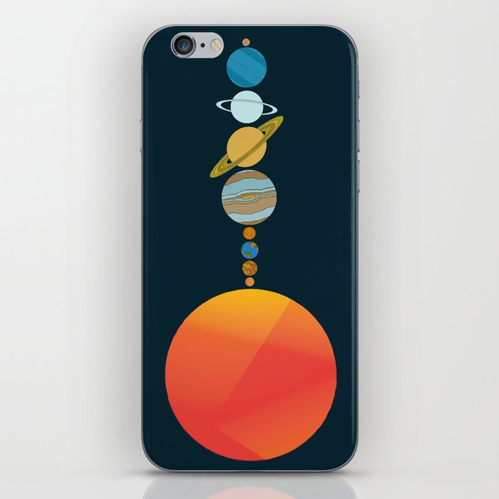 Solar System 2 iPhone Skin