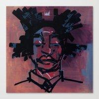 basquiat Canvas Prints featuring basquiat by joseph arruda (zeruch)