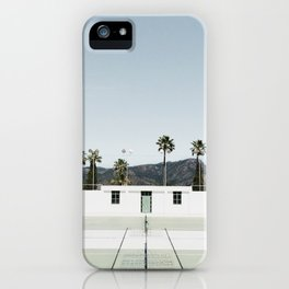tennis at hearst iPhone Case