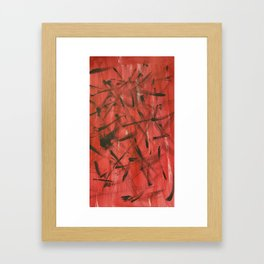 Abstract #5 - Mixed Emotions Framed Art Print
