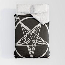 Das Siegel des Baphomet - The Sigil of Baphomet (white) Comforters