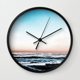 Cool Crushing Waves Wall Clock