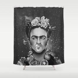 Frida Space Shower Curtain
