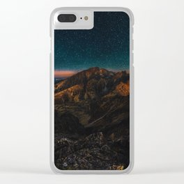Stars Aplenty Clear iPhone Case