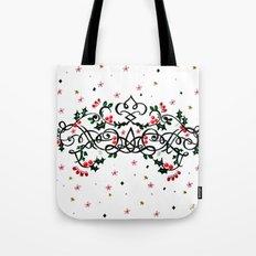 Christmas Plaq Tote Bag