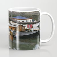 boats Mugs featuring Boats by constarlation
