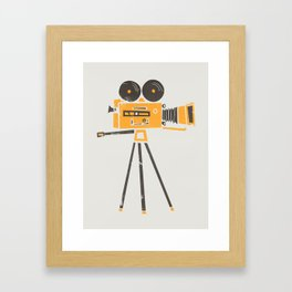 Cine Camera Framed Art Print