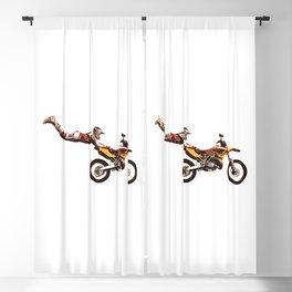 Motocross Stunt Jump Blackout Curtain