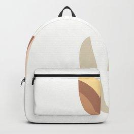 Geometric flower pink 2 Backpack