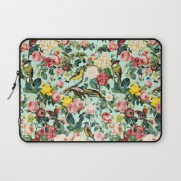 Floral and Birds III Laptop Sleeve