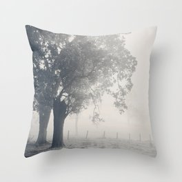 Faded... Throw Pillow
