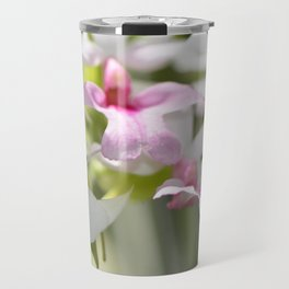 Delicate Orchids by Sharon Cummings Travel Mug