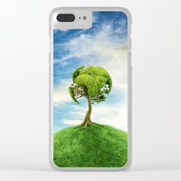 World Tree Clear iPhone Case