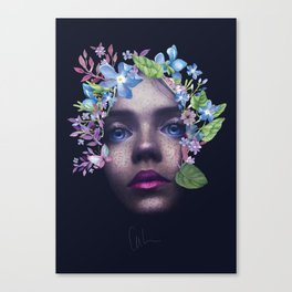 Beyond The Skin Canvas Print