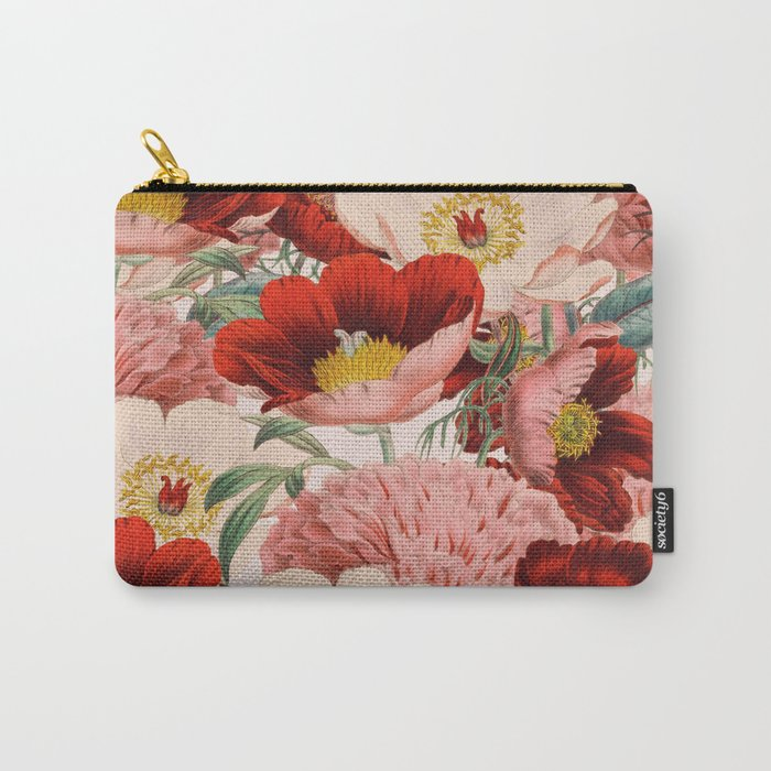 Vintage Garden #society6 Carry-All Pouch