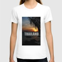 thailand T-shirts featuring Thailand by Ciaran Mcg