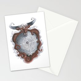 Theseus and the Minotaur  Stationery Cards