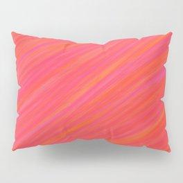 Pink Streak Pillow Sham