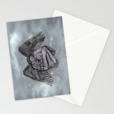 Eros , Amor - Angel and Woman in Love Stationery Cards