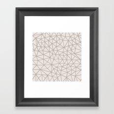 Broken Soft Framed Art Print