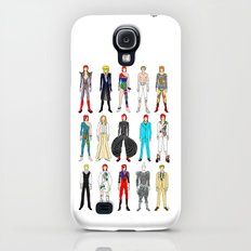 Outfits of Bowie Fashion on White Slim Case Galaxy S4