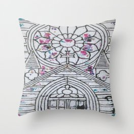 Ink Printer Throw Pillow