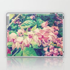 Yellow Tips | Beautiful Coral Vine Flower Photography Laptop & iPad Skin