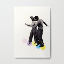 Dance Steps Metal Print
