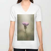 weed V-neck T-shirts featuring Weed by Pauline Fowler ( Polly470 )