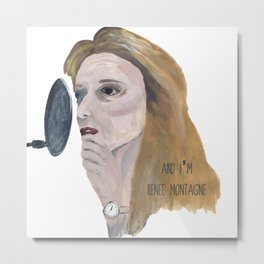And I'm Renee Montagne Metal Print