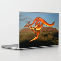 kangaroo Laptop & iPad Skins featuring Kangaroo by Knot Your World