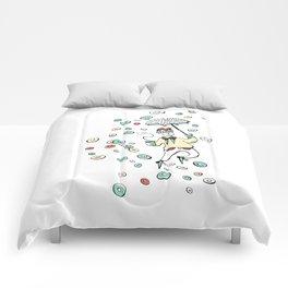 Raining Donuts Comforters