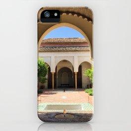 Alcazaba Arches Malaga iPhone Case
