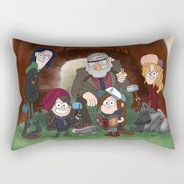 Bifrost Falls Rectangular Pillow