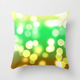 Soft Lights Bokeh 3 Throw Pillow