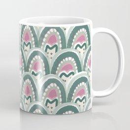 watermelon succulent pattern Coffee Mug