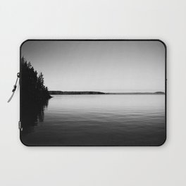 A serene lake in Finland Laptop Sleeve