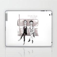 F-Train Snobs by Kat Mills Laptop & iPad Skin