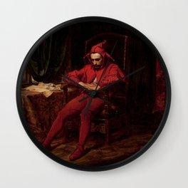 Jan Matejko - Stańczyk - Stanczyk Wall Clock