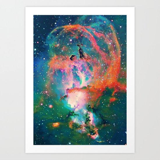 Wing Nebula Art Print